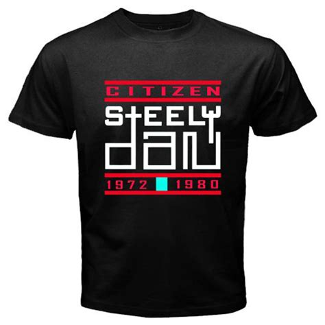 T Shirt Aja Steely Dan new steely dan pop rock legend s black t shirt