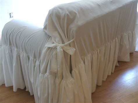 Slipcover Throw shabby chic sofa slipcoverthrow by mythymecreations on etsy