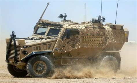 Hummer Husky Army more uk foxhound vehicles arrives in