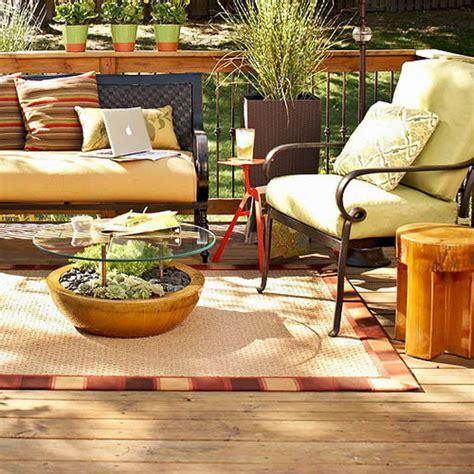 Outdoor Room Decorating Ideas Diy Table Planter Glass Top Patio Table Decor