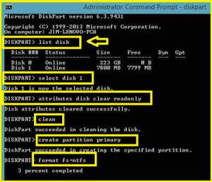 how to format flash disk cmd how to remove write protection from a usb flash drive