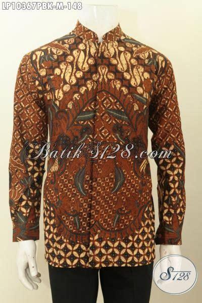 Baju Koko Ihsan Motif Batik model baju batik koko lengan panjang motif klasik pakaian
