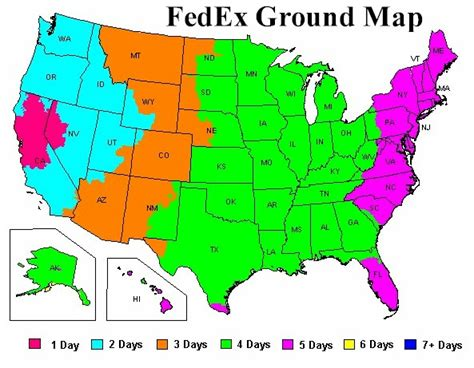 fedex ground map fedex ground transit time quotes