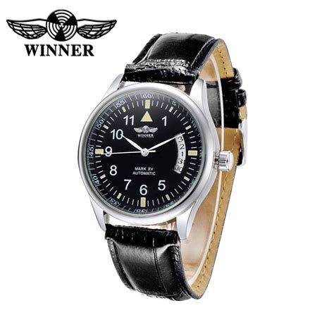 2016 luxury top brand automatic aliexpress buy winner black automatic