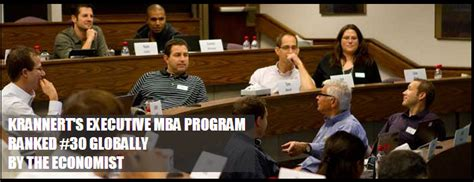 Why Get An Executive Mba Degree by Why Purdue Executive Mba Purdue Krannert