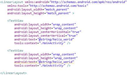 zone layout java aprendiendo a desarrollar en android views y layouts 1
