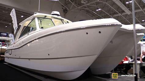 world cat boat shows 2016 world cat 320 dc fishing catamaran walkaround