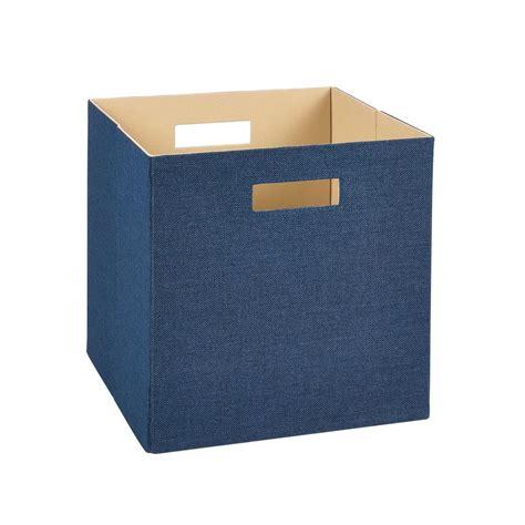 decorative storage bins closetmaid 13 in h x 13 in w x 13 in d decorative