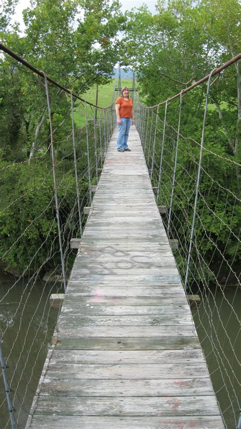 Swinging Bridge Hopping In Lee County Myswvatoday