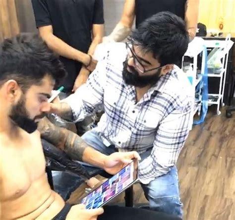 virat kohli tattoo virat kohli s affair with tattoos continues see pics