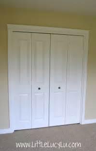 Folding doors closet folding doors