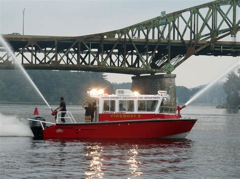 viking fire boat viking delivers two new fire rescue boats workboat