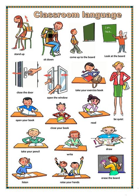 Second Hand Furniture Store 61 free esl classroom language worksheets