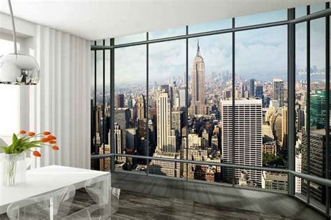 wall mural new york new york city view wall mural wallpaper shop