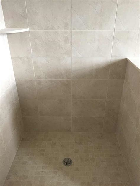 Fiberglass Walk In Shower by Custom Shower Pan Shower Base Installation Fiberglass