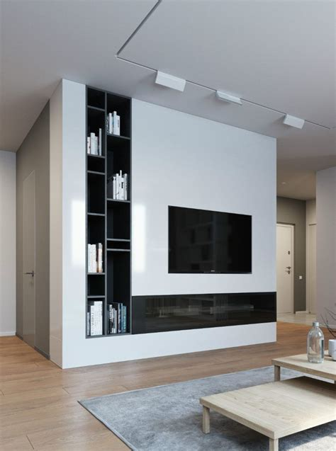 Wall Modern Design by Contemporary And Creative Tv Wall Design Ideas