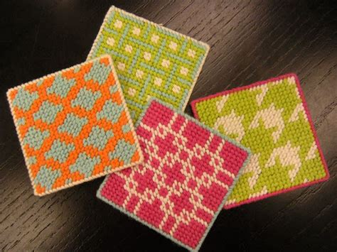 free patterns in plastic canvas free plastic canvas patterns coasters plastic canvas