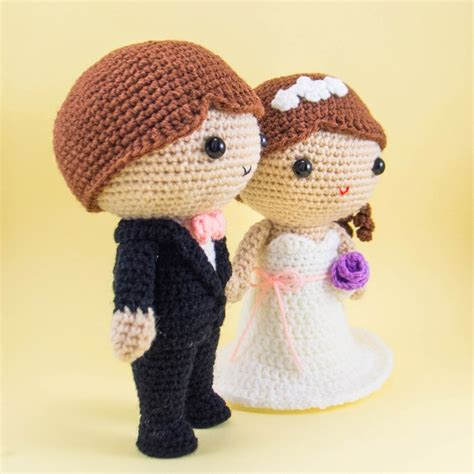 Wedding Amigurumi Pattern by And Groom Wedding Pattern Amigurumi Pattern