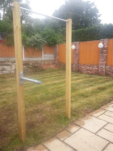 chin up station diy outdoor chin up dip bar wirral