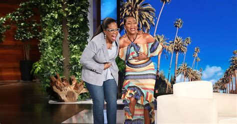 Extra Tv Show Giveaway - oprah s big surprise for superfan tiffany haddish extratv com