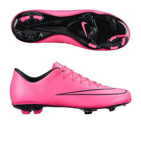 nike youth football shoes nike youth mercurial vapor x fg soccer cleats hyper pink