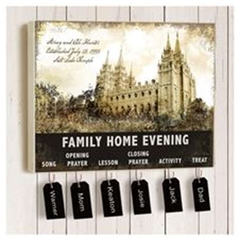 family home evening ideas on family home