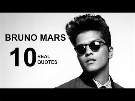 bruno mars biography youtube bruno mars 10 real life quotes on success inspiring