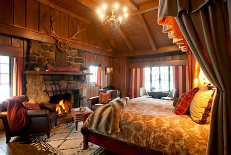hotel with log fire in bedroom the point the adirondacks hotels the adirondacks us