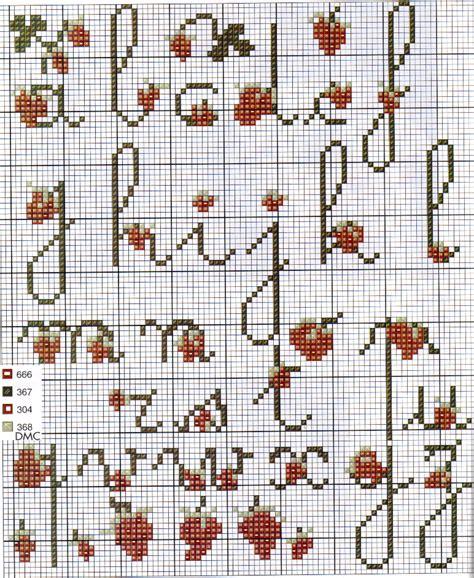lettere a punto croce schemi schemi punto croce numeri punto croce