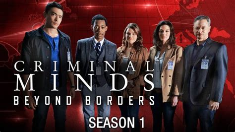 Countries You Can T Visit With A Criminal Record Criminal Minds Beyond Borders Season 1 Tv Series 2016 Hd Free On