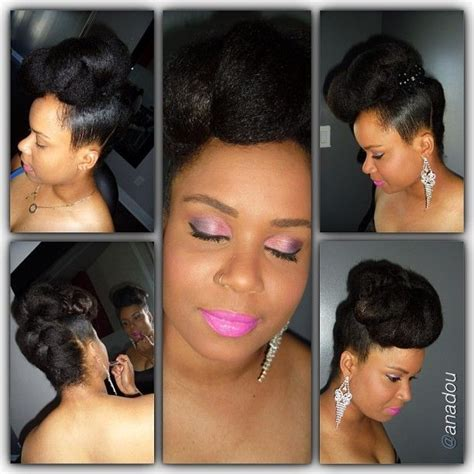 quick updo using kanekalon kanekalon hair updos hairstylegalleries com