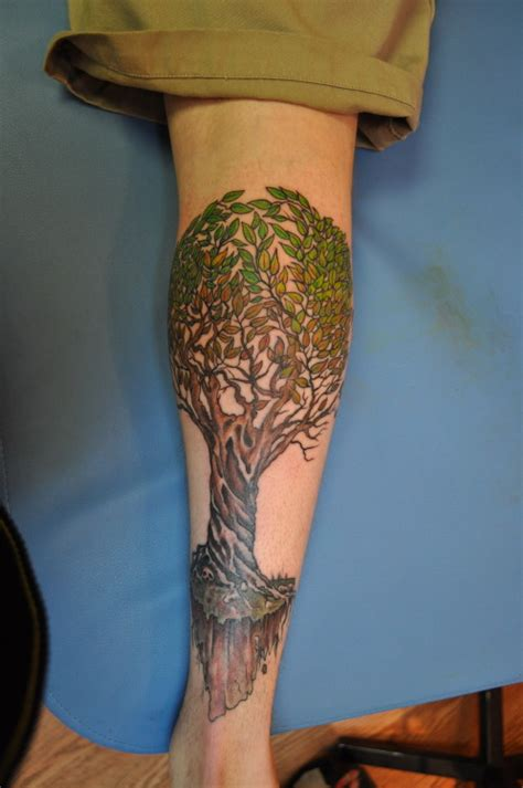 calf tattoos tumblr calf on