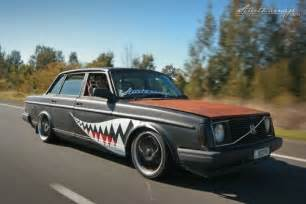 Volvo 240 Rat Volvo 240 Dl Murdered Out Bomber Rat Rods