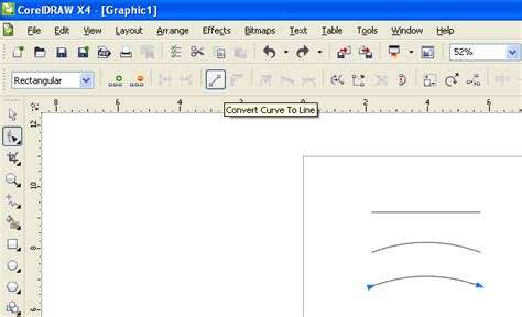 corel draw x5 tools list pen tool straight to curve and back again problem