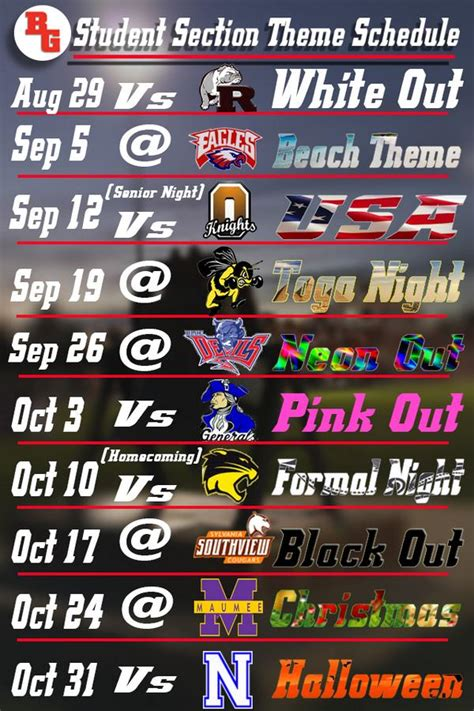 student section themes no fun zone on twitter quot we are a 7 days away from our