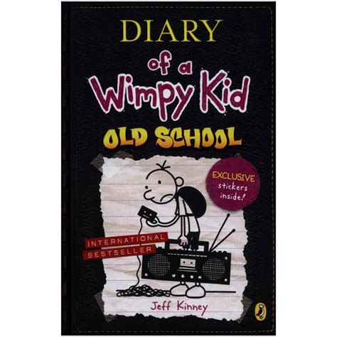 Diary Of A Wimpy Kid School By Jeff Kinney Story Books