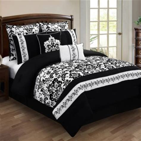 bed bath and beyond comforter sets king buy black and white bedding sets king from bed bath beyond