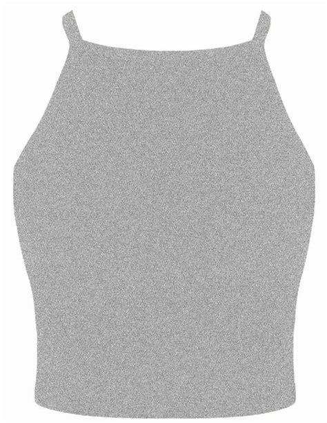 V Basic Grey Top womens plain strappy high neck crop top sleeveless bralet vest top