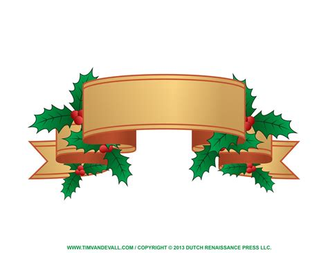 Christmas Program Clipart - Clipart Suggest Free Holiday Banner Clip Art