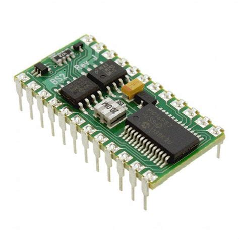 integrated circuit microcontrollers bs2 ic parallax inc integrated circuits ics digikey