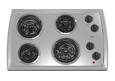 30 inch cooktop electric 30 inch electric cooktop with stainless steel surface
