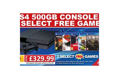 ps4 bundle deals uk smyths