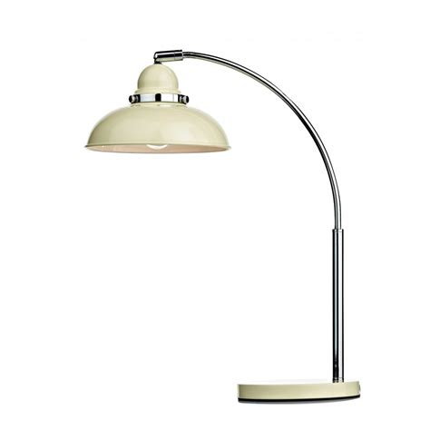 Retro Cream Metal Chrome Table L Desk Light Or Study Table Lights