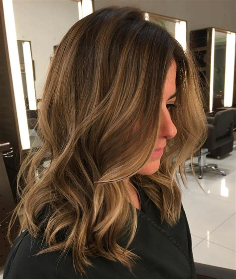 balayage light brown hair 50 light brown hair color ideas with highlights and lowlights