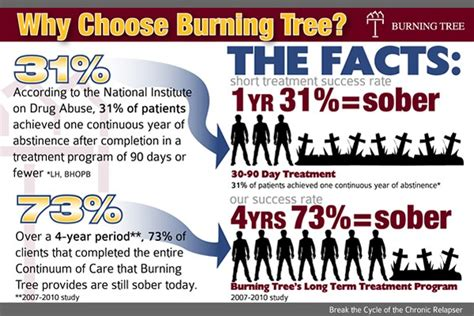 Heroin Detox Success Rate by Success Rates With Term Rehab At Burning Tree