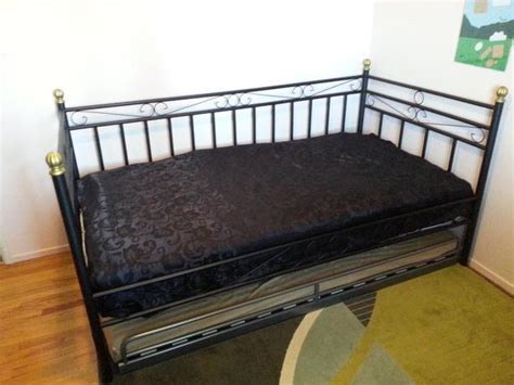 ikea wrought iron bed ikea wrought iron day bed west shore langford colwood