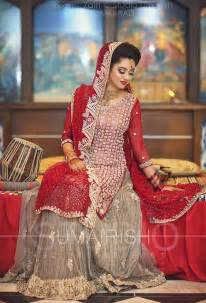 Gorgeous style pakistani bridal lehenga dresses trendy collection 2016