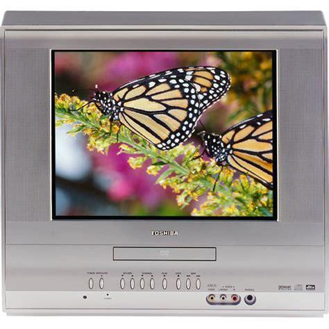 Tv Toshiba Tabung 14 toshiba md14h63 14 quot flat tv dvd combo md14h63 b h photo