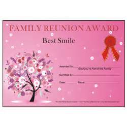 Best Smile Award: Oak PassionTheme Free Family Reunion