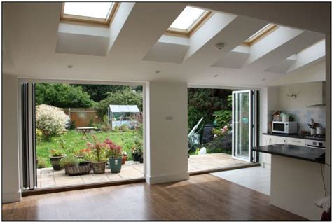 Open Floor Plan Kitchen And Living Room Transform Your Home For Summer With Kitchen Extensions In